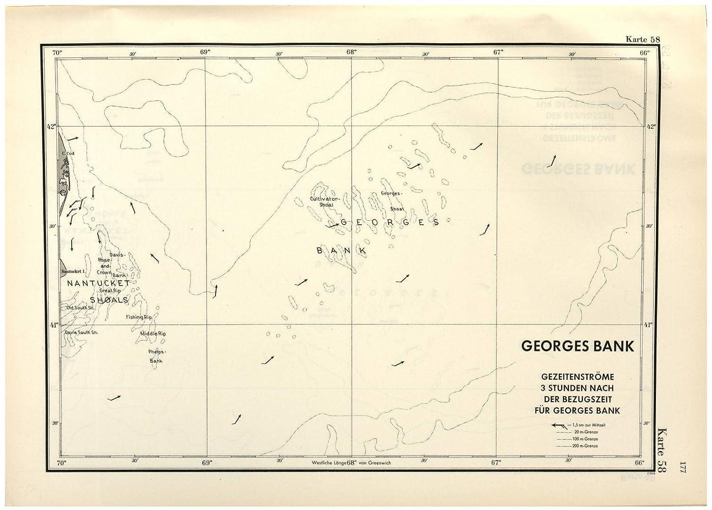 Karte Von Florida Westkuste.Amazon Com Historic 1943 Map Ubootshandbuch Der Ostkuste