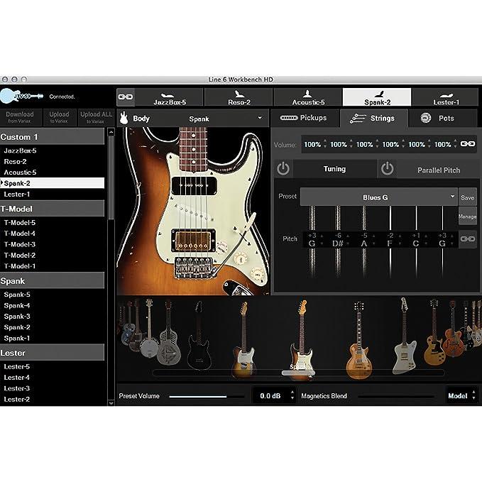 Line 6 - Jtv-59p gold guitarra electrica: Amazon.es: Instrumentos musicales