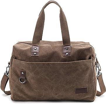 Waterproof Men Travel Luggage Bags Mens Portable Travel Tote Large Weekend Bag Crossbody Handbag khaki