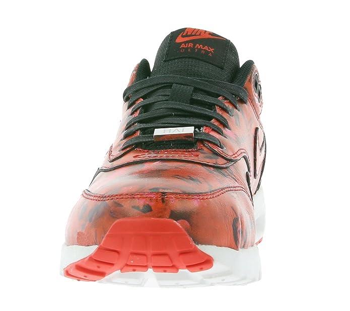 Amazon.com | Nike Air Max 1 Ultra Shanghai City Pack 747105-600 Red/Plum  Blossoms Women\u0027s Shoes | Fashion Sneakers