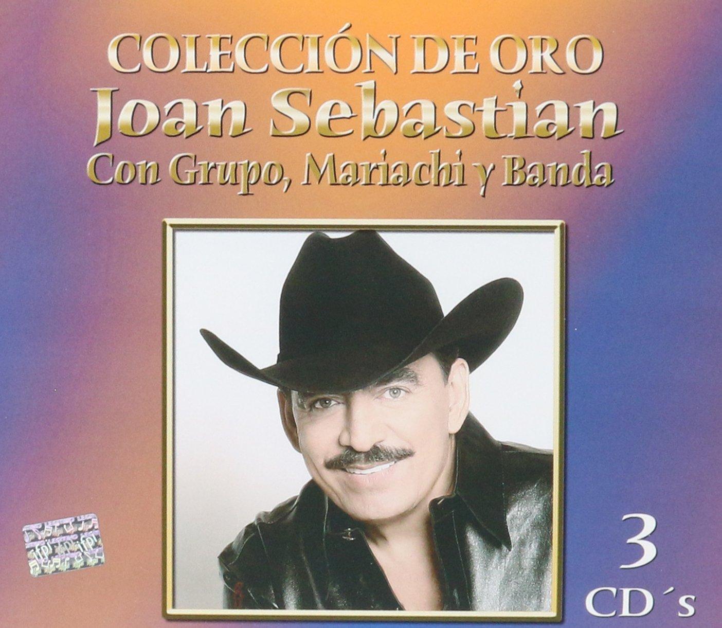 Coleccion De Oro : Con Grupo Mariachi y Banda 3CDs