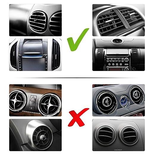 Soporte de coche para telefono ventilacion CHOETECH Soporte y Montaje ABS stent de silicona plástica con ventosa Soporte de gps para coche Rotación de ...