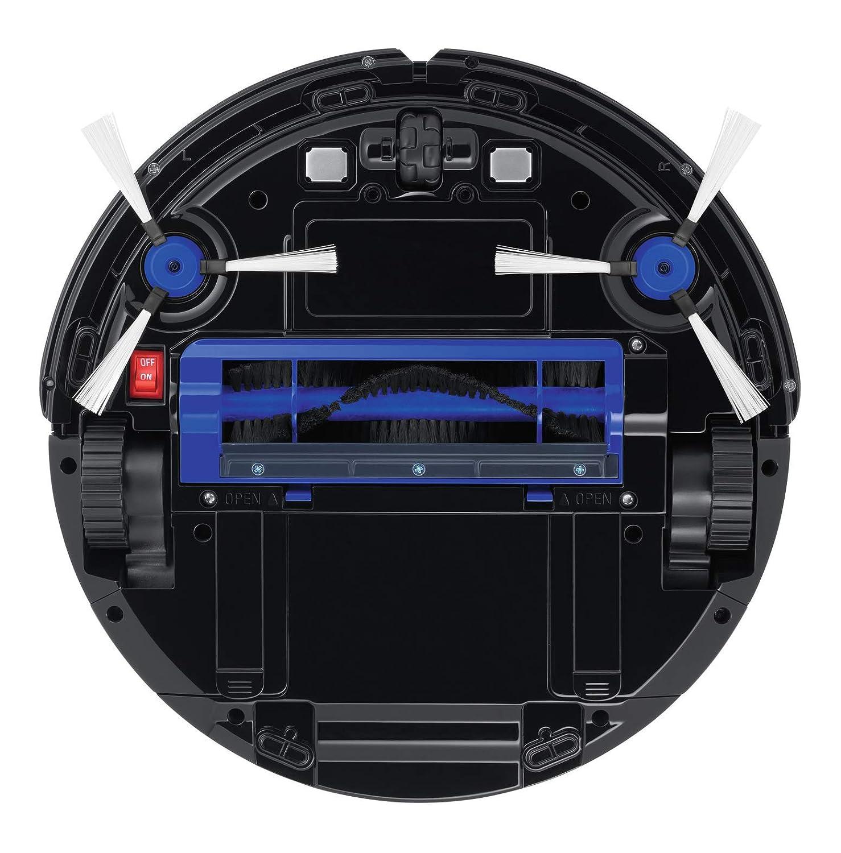 sensores infrarrojos y antica/ída bater/ía ion litio de 150 min autonom/ía con pared virtual Robot aspirador 3 modos limpieza Rowenta RR6943WH  Smart Force Essential alto rendimiento en suelos duros