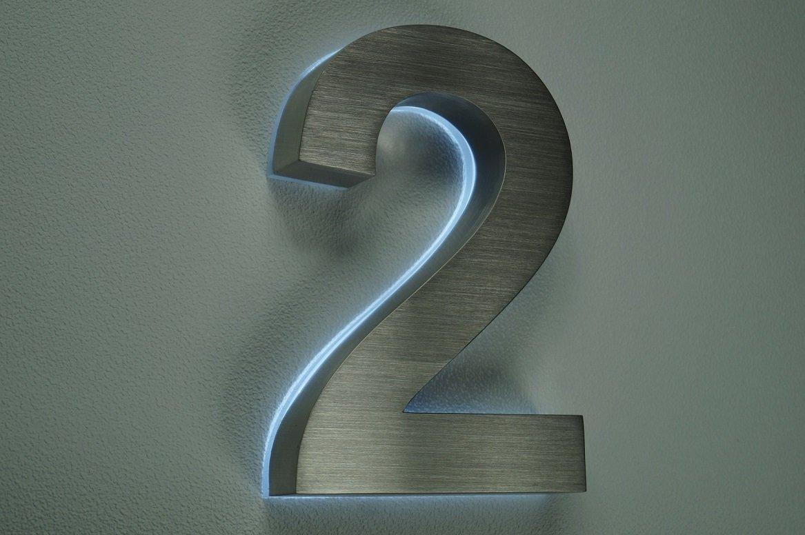 hausnummer beleuchtet hausnummer edelstahl nr hcm va beleuchtet led weiss dcvolt with. Black Bedroom Furniture Sets. Home Design Ideas