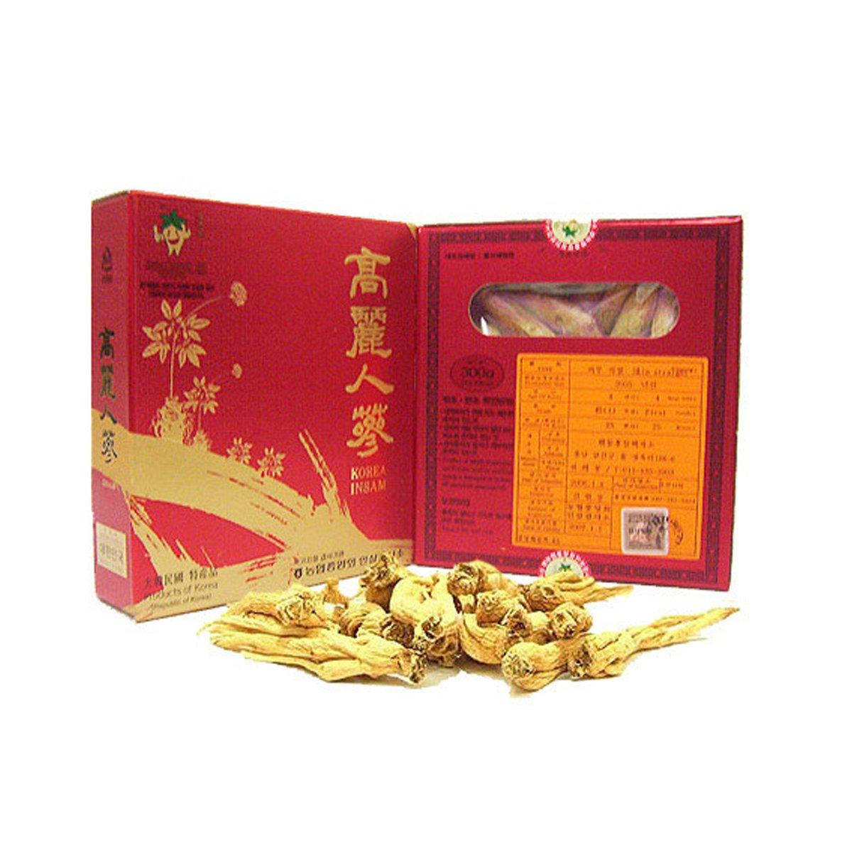 [Medicinal Korean Herb] Premium Korean Koryeo Ginseng 4 Years Old (Renshen/고려 인삼) Dried Bulk Herbs 300g (50 Roots) by HERBstory (Image #2)