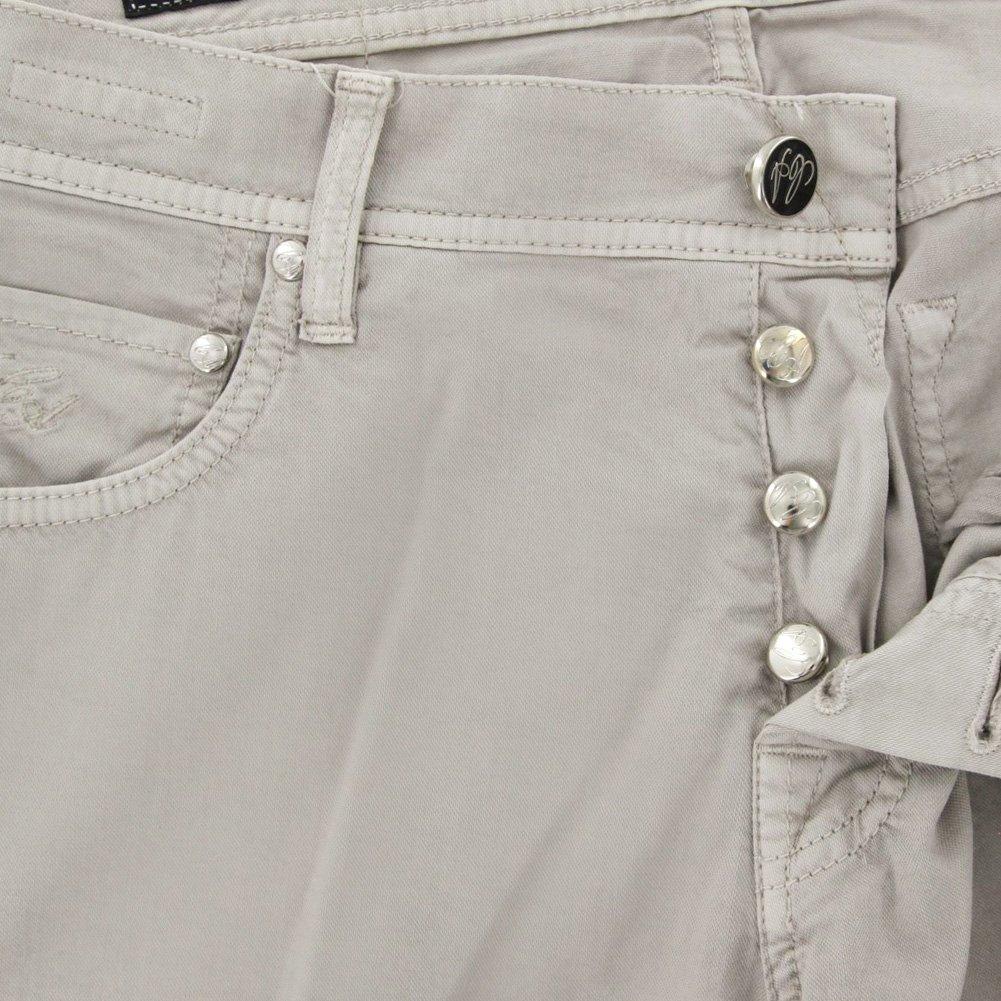 Cesare Attolini Beige Solid Pants Slim