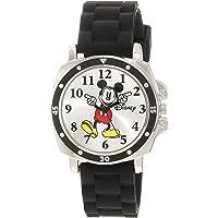 Disney Mickey Mouse MK1080. Reloj con brazalete de goma para niños