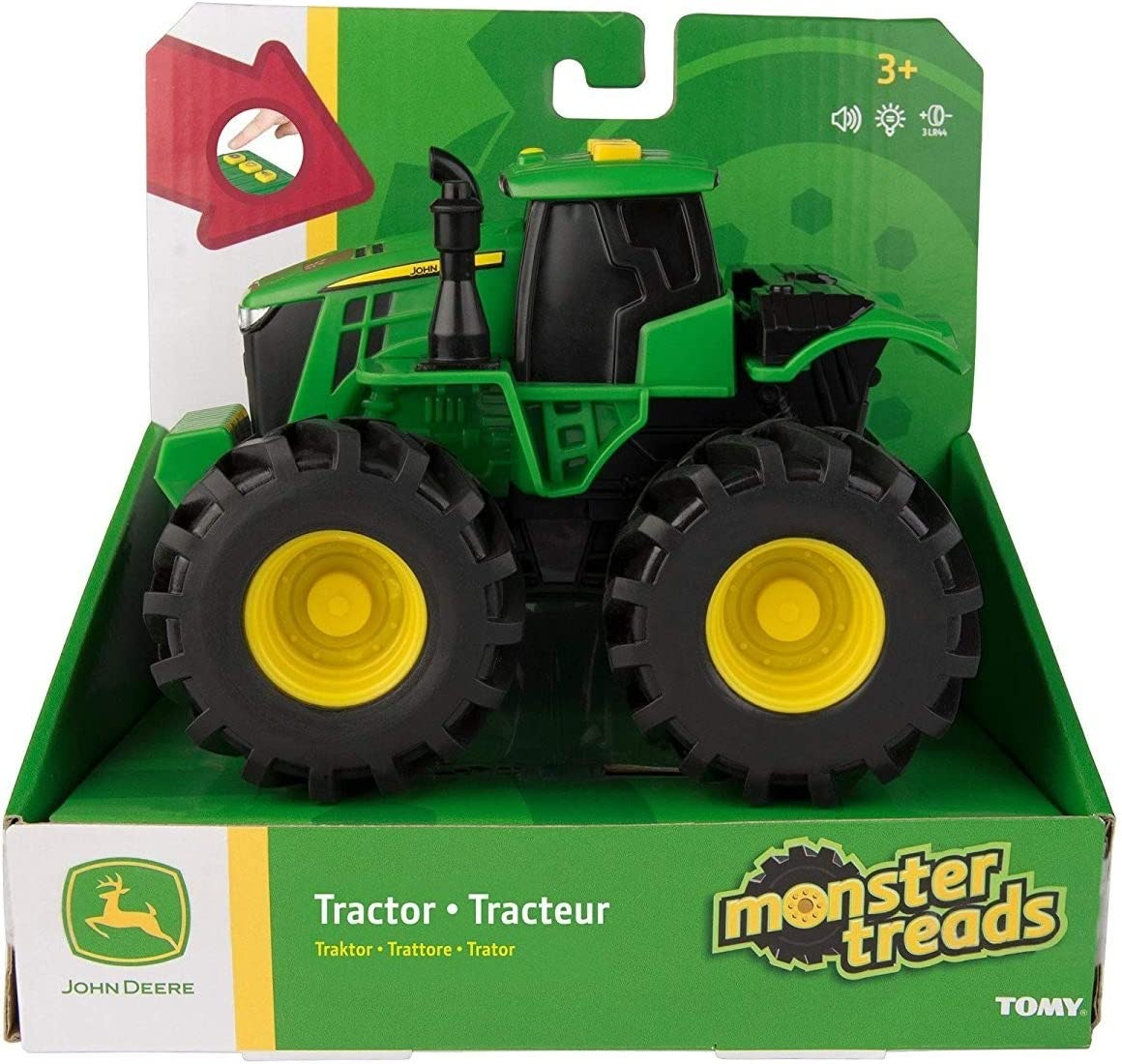 John Deere John Deere-46656 Monster treads, Multicolor (Tomy 46656)