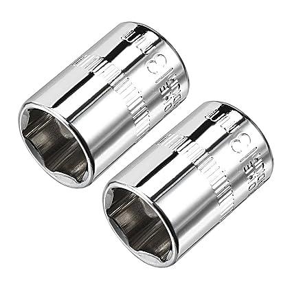 Amazon.com: uxcell - Llave de vaso de acero al cromo vanadio ...