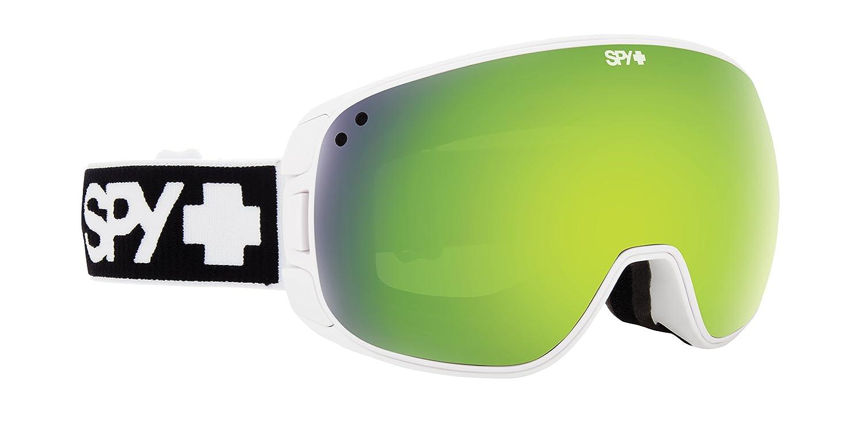 amazon com spy optic bravo snow goggles one size matte white