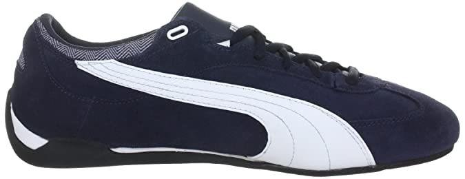 416f2da85ca Puma Men s Fast Cat Suede Trainers 304219 New Navy-White 8 UK  Amazon.co.uk   Shoes   Bags
