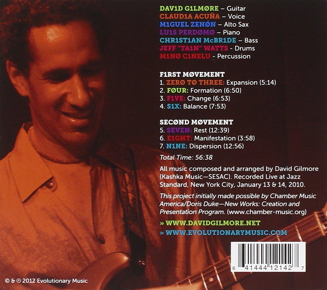 david gilmour allmusic discography