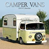 Volkswagen Bus 2019 Square Wall Calendar Amazon Co Uk Browntrout
