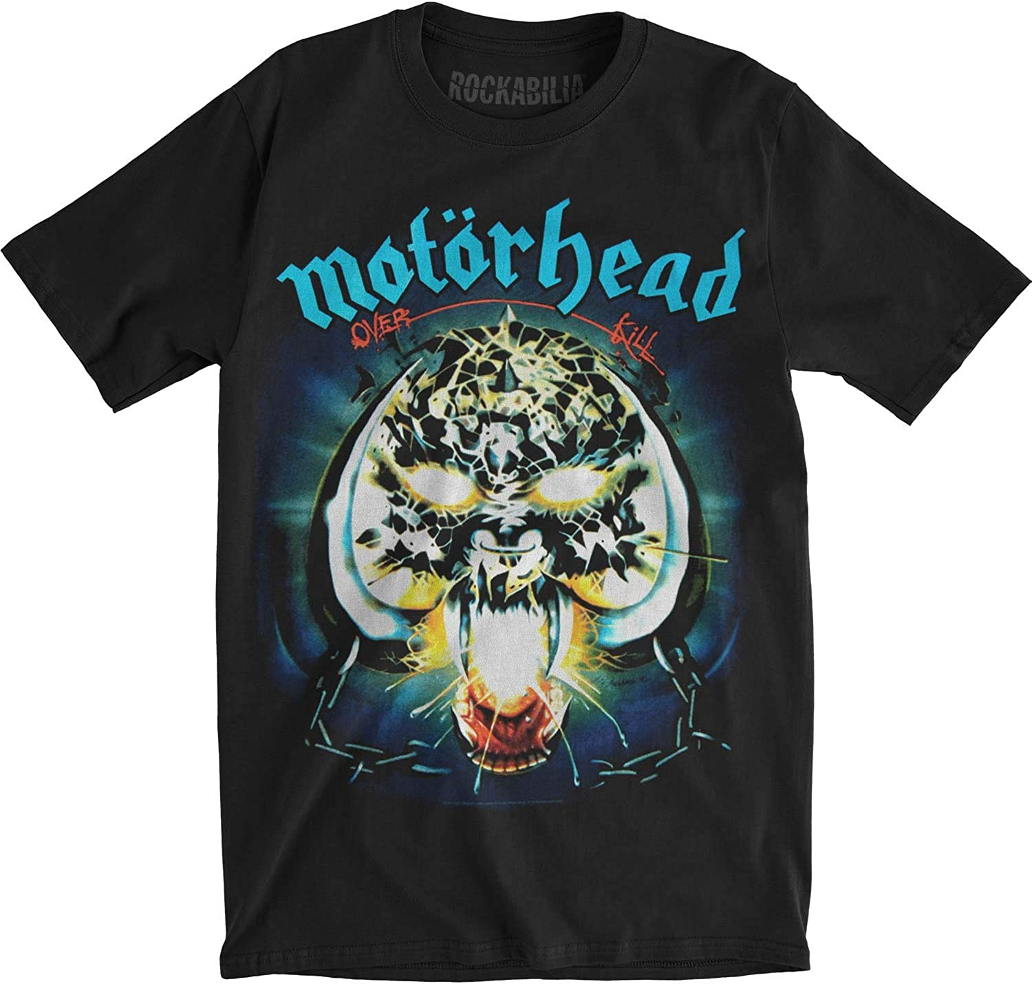 Motorhead /'Overkill/' Womens Fitted T-Shirt NEW /& OFFICIAL!