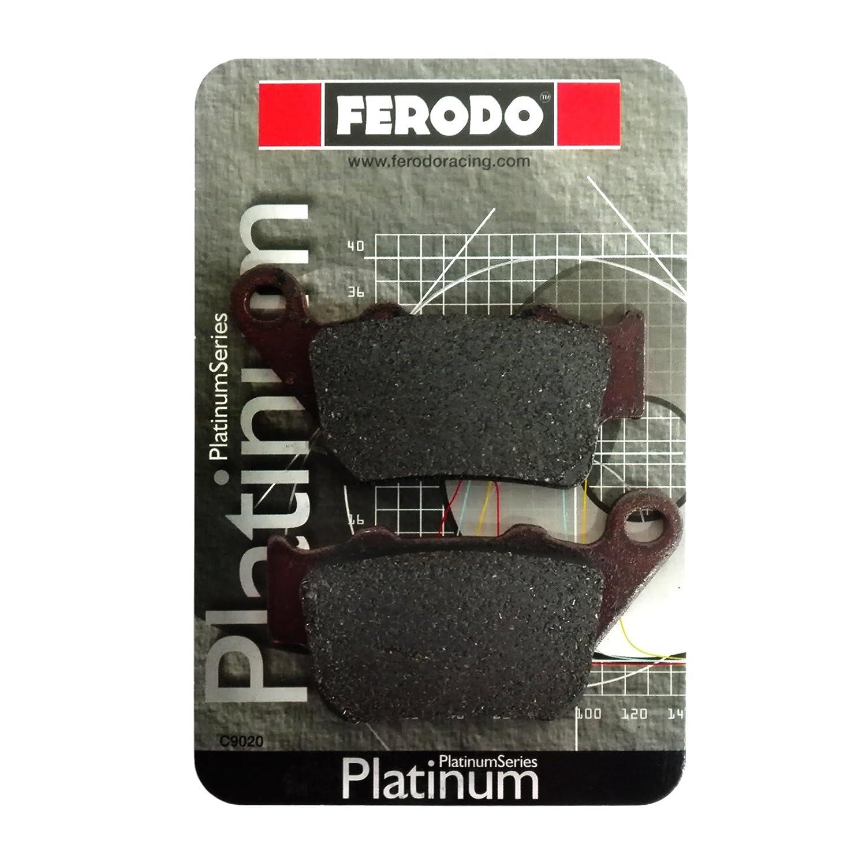 Coppia pastiglie freno posteriori platino Ferodo FDB2005P Motocar