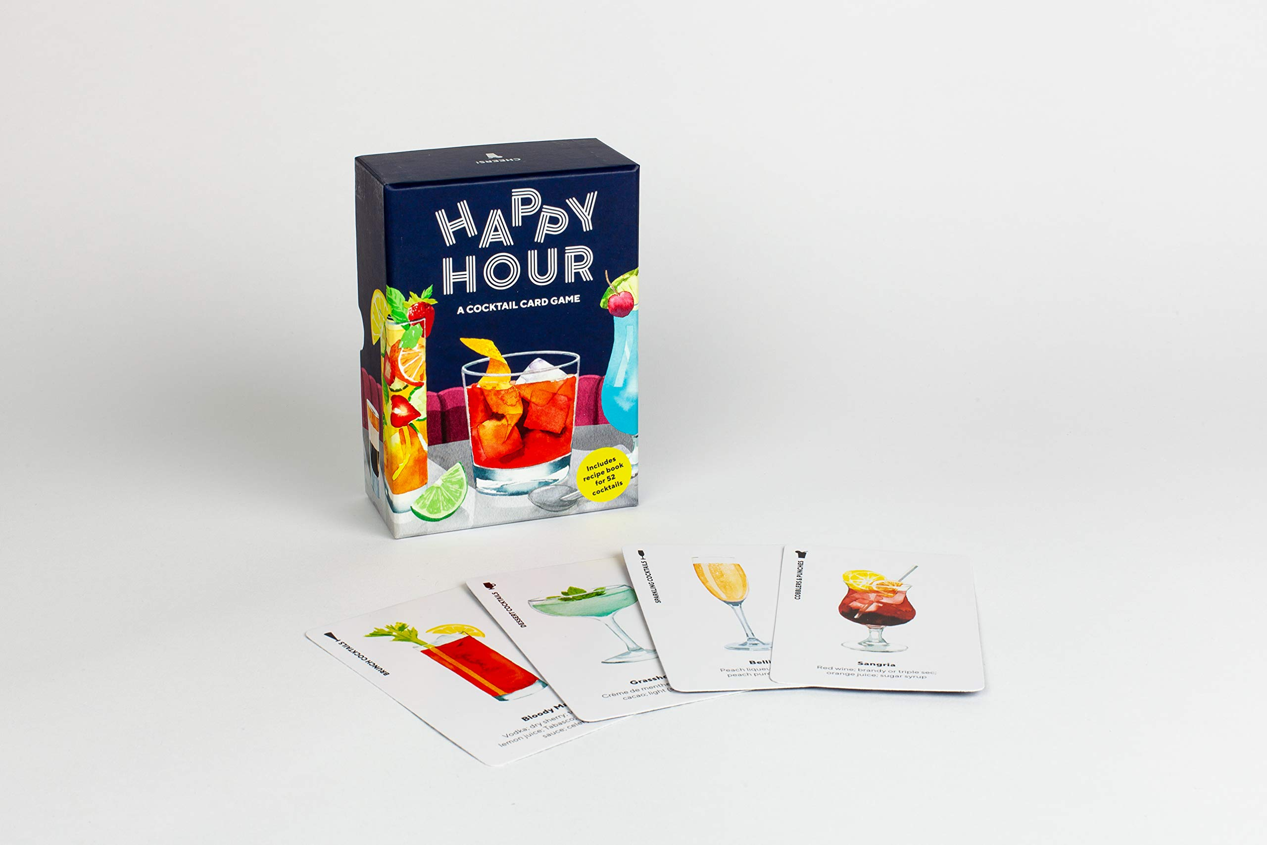 Happy Hour: A Cocktail Card Game: Amazon.co.uk: Gladwin, Laura, George,  Marcel: 9781786274298: Books