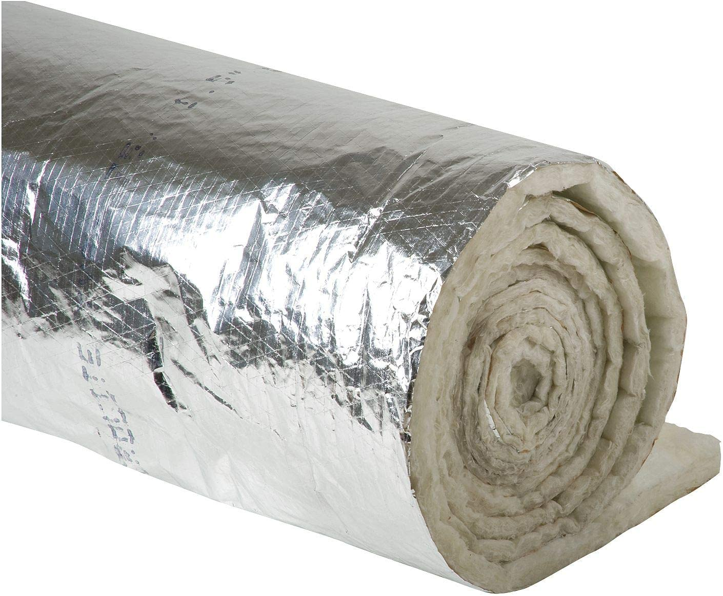 Duct Insulation, 1-1/2In x 48In x 25 ft.