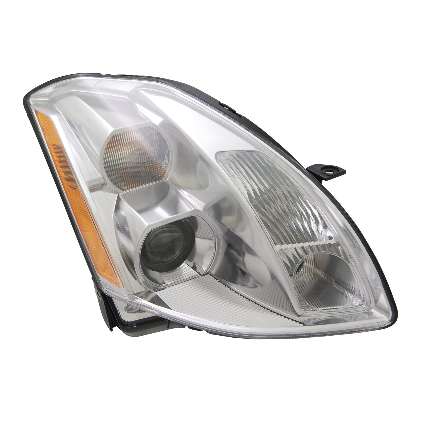 TYC 20-6521-00-1 Nissan Maxima Right Replacement Head Lamp