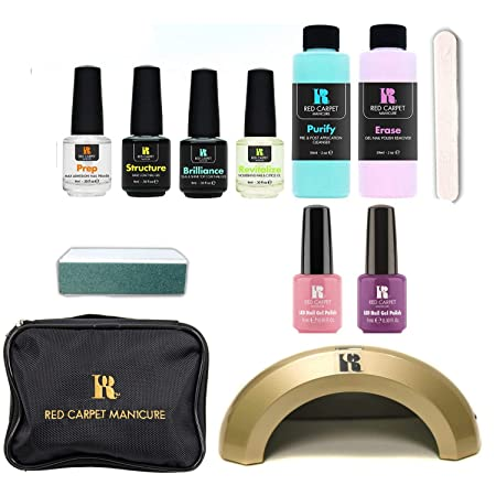 Red Carpet Manicure Cinderella LED 5 Color Gel Nail Kit