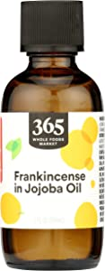 365 by Whole Foods Market, Aromatherapy 100% Essential Oil, Frankincense in Jojoba Oil, 2 Fl Oz