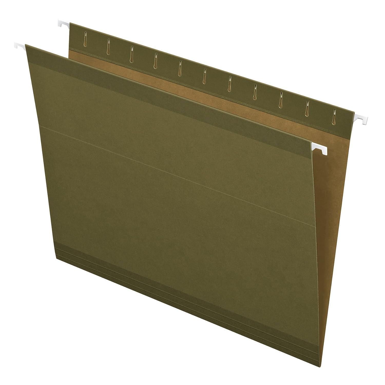 Pendaflex reforzada para colgar color verde estándar carpetas de archivo no-tab no-tab archivo 25 unidades (4152) 1029d7
