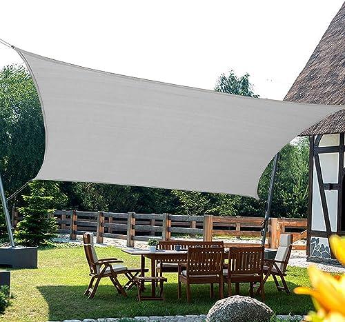 Kanagawa Sun Shade Sail Rectangle 12' x 16' UV Block Canopy Sand Cover