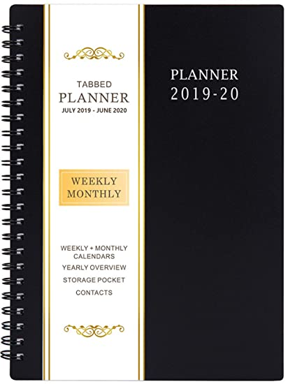 Best Planers 2020 Amazon.: 2019 2020 Academic Planner   Weekly & Monthly Planner