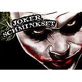Profi-Schminkset JOKER MAKEUP KIT für Karneval / Fasching / Halloween