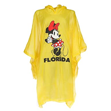 Disney Kids Minnie Mouse Florida Rain Poncho