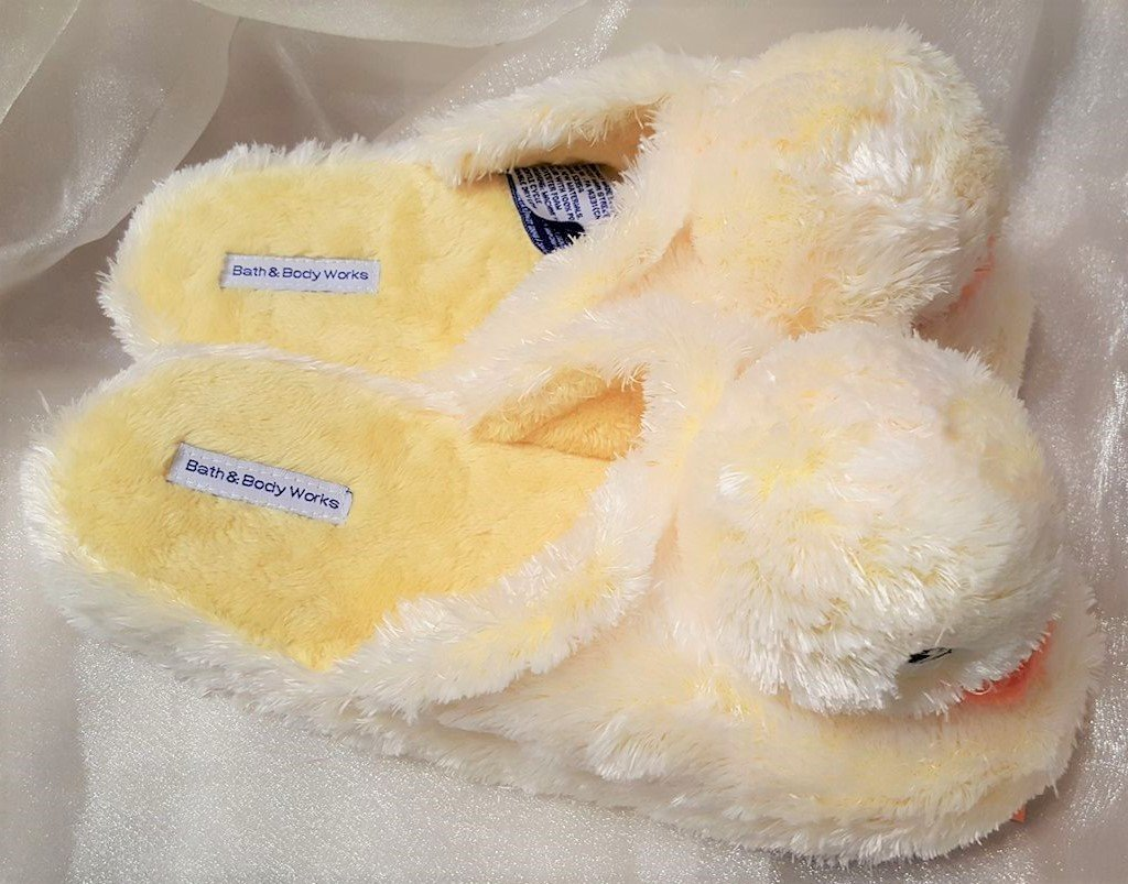 Bath & Body Works Duckie Duck Slippers Small / Medium