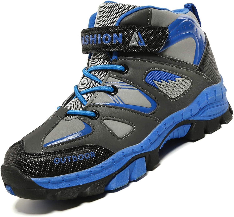 Unitysow Zapatos de Niños Zapatillas de Senderismo Botas de Montaña Impermeables Deportiva al Aire Libre Senderismo Calzado de Trekking EU31-40