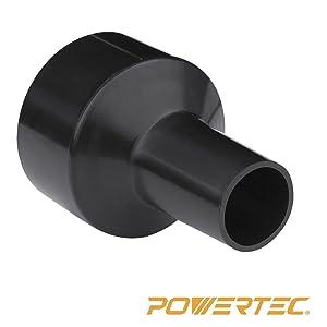 """Powertec 70140 2-1/2"""" to 1-1/4"""" Hose Reducer"""