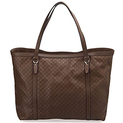 49c528c8f1f Amazon.com  Gucci Nice Microguccissima Leather Tote Handbag  Shoes
