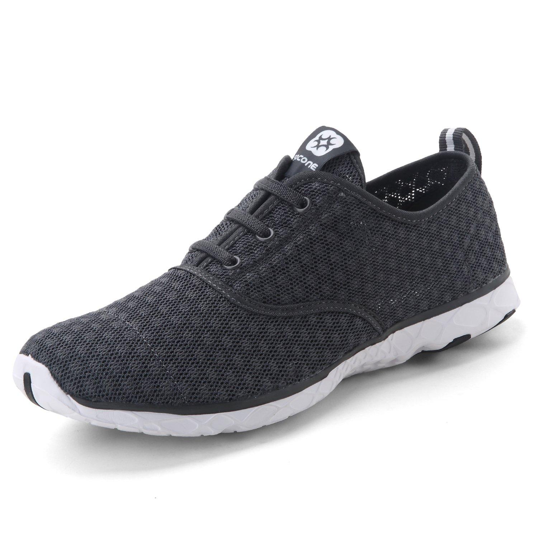 Dreamcity Women's Water Shoes Athletic Sport Lightweight Walking Shoes B073784PFH 8 B(M) US,Darkgrey