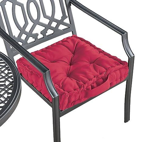 Amazon.com: Colecciones cojín acolchado de silla de asiento ...