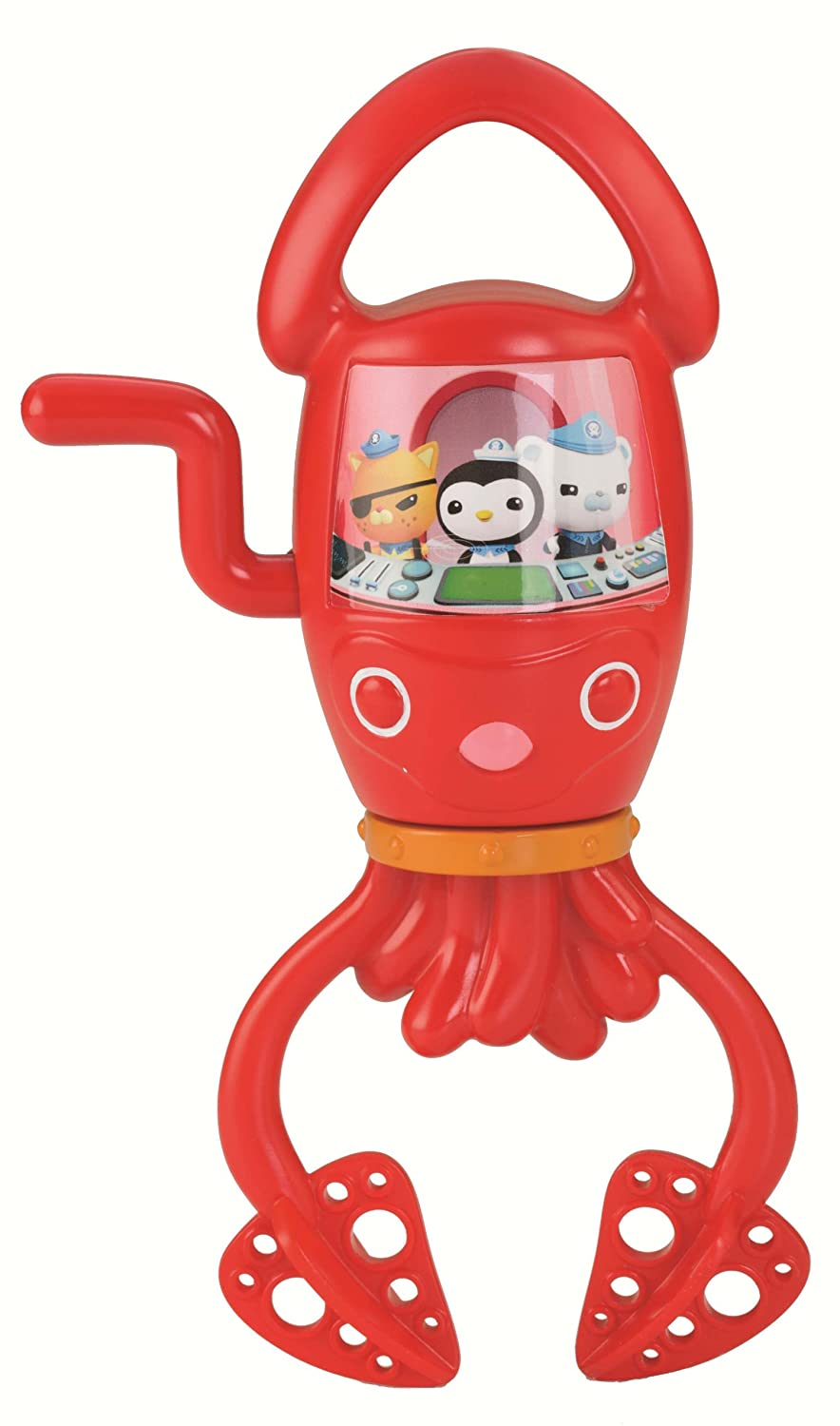 Fisher-Price Octonauts Spin and Suds Squid Mattel Y5196