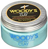 Woody's Matte Finish Clay for Men, Styling, 3.4