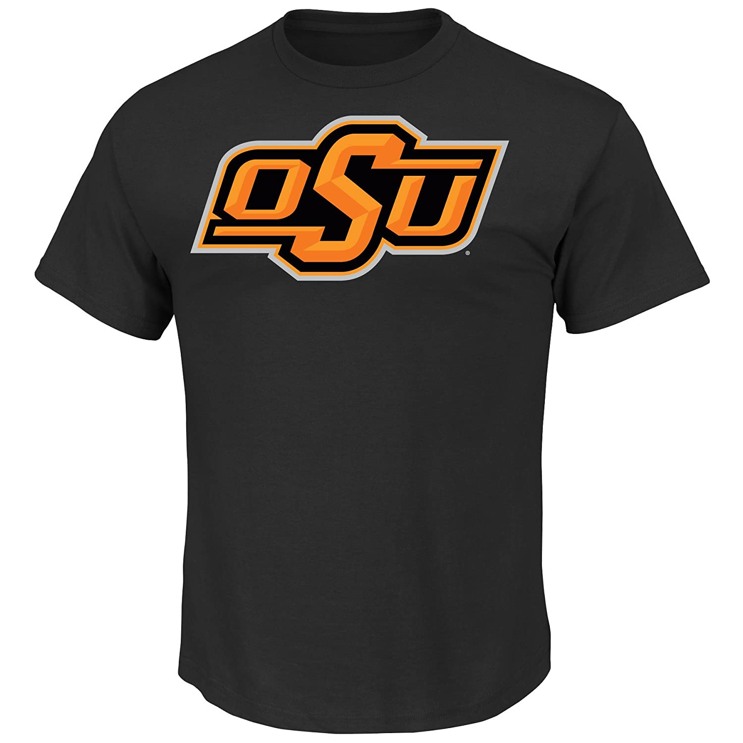 Oklahoma State Cowboys Majestic NCAA Football Icon T-Shirt - Black