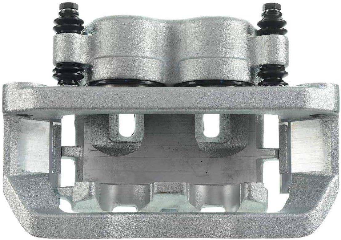 A-Premium Brake Caliper Assembly Compatible with Ford F53 F59 E-550 F-450 F-550 Super Duty 1999-2004 2011-2018 Driver and Passenger 2-PC