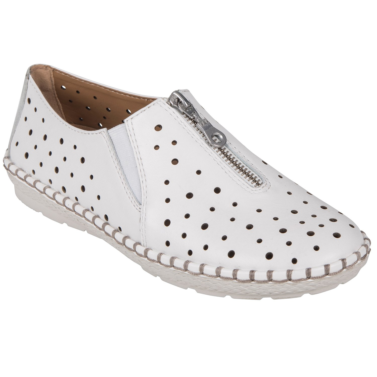 Earth Shoes Callisto B079627P2G 5.5 B(M) US|White