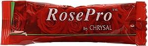 Chrysal RosePro Liquid Fresh Cut Flower Food Packets - 100 Packets - Use 1 Packet Per Quart of Water