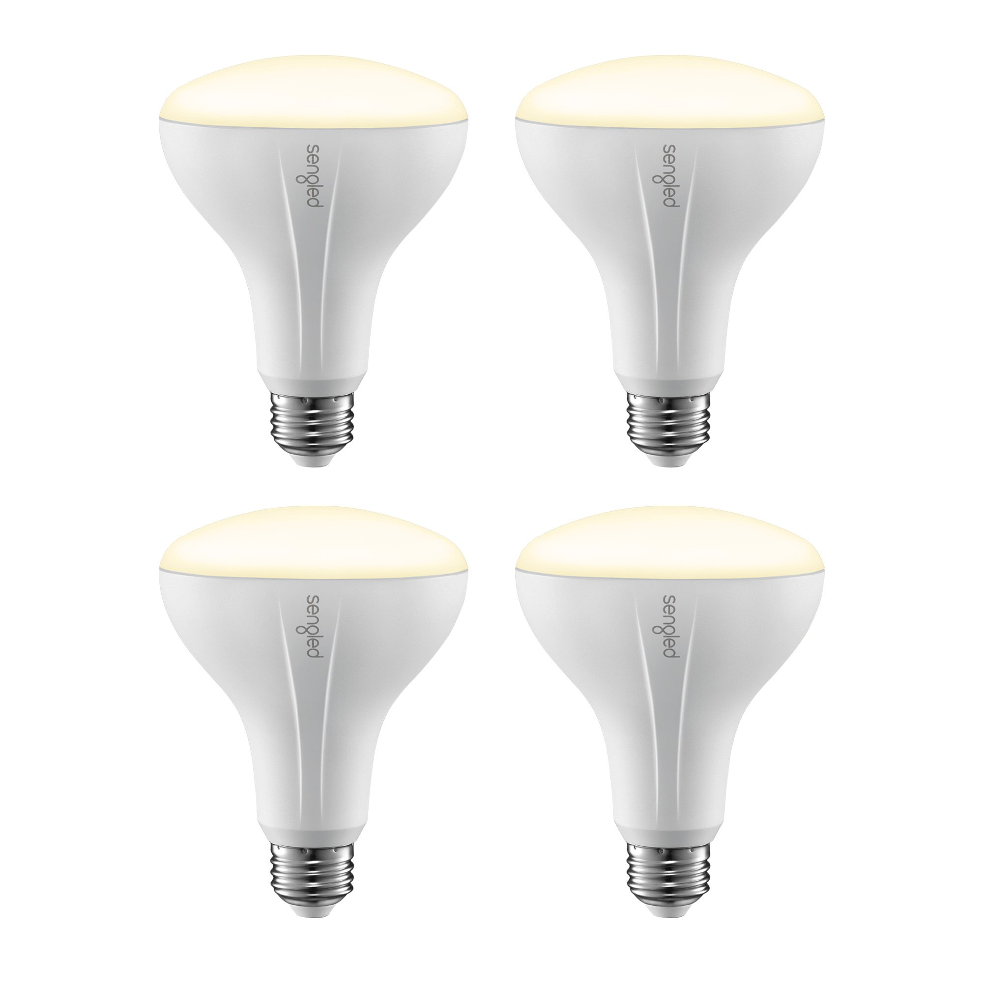 Sengled Element Classic Smart LED Light Bulb (Hub Required), BR30 Dimmable LED Light Soft White 2700K 65W Equivalent, Works with Alexa/Echo Plus/SmartThings/Google Assistant, 4 Pack