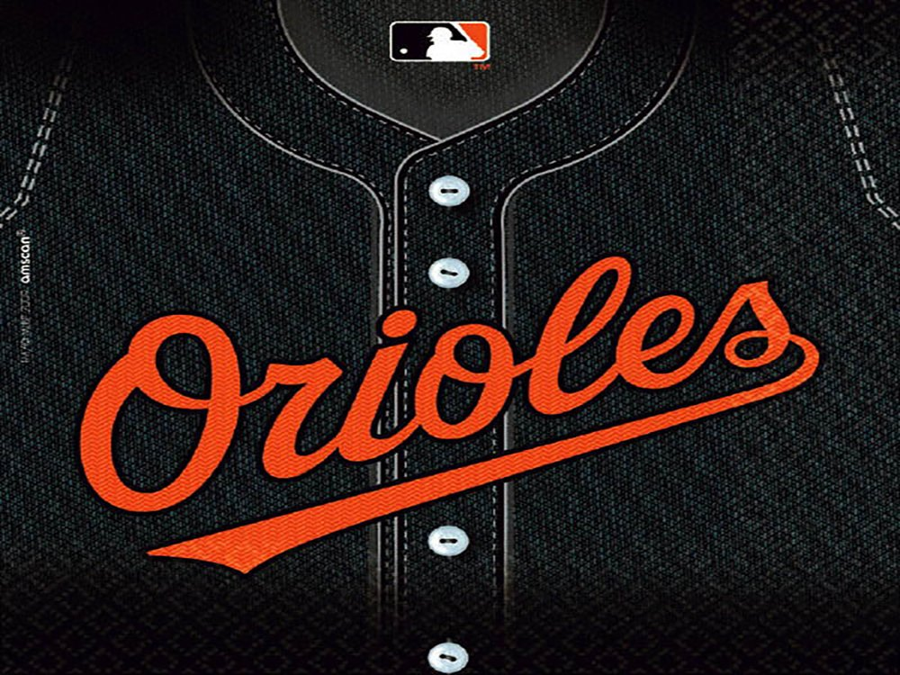 Amscan Baltimore Orioles Collection Luncheon Napkins, 432 Ct.