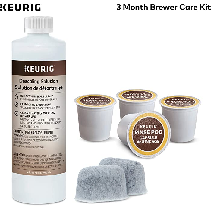 The Best Coffe Cleaner Descaler For Keurig