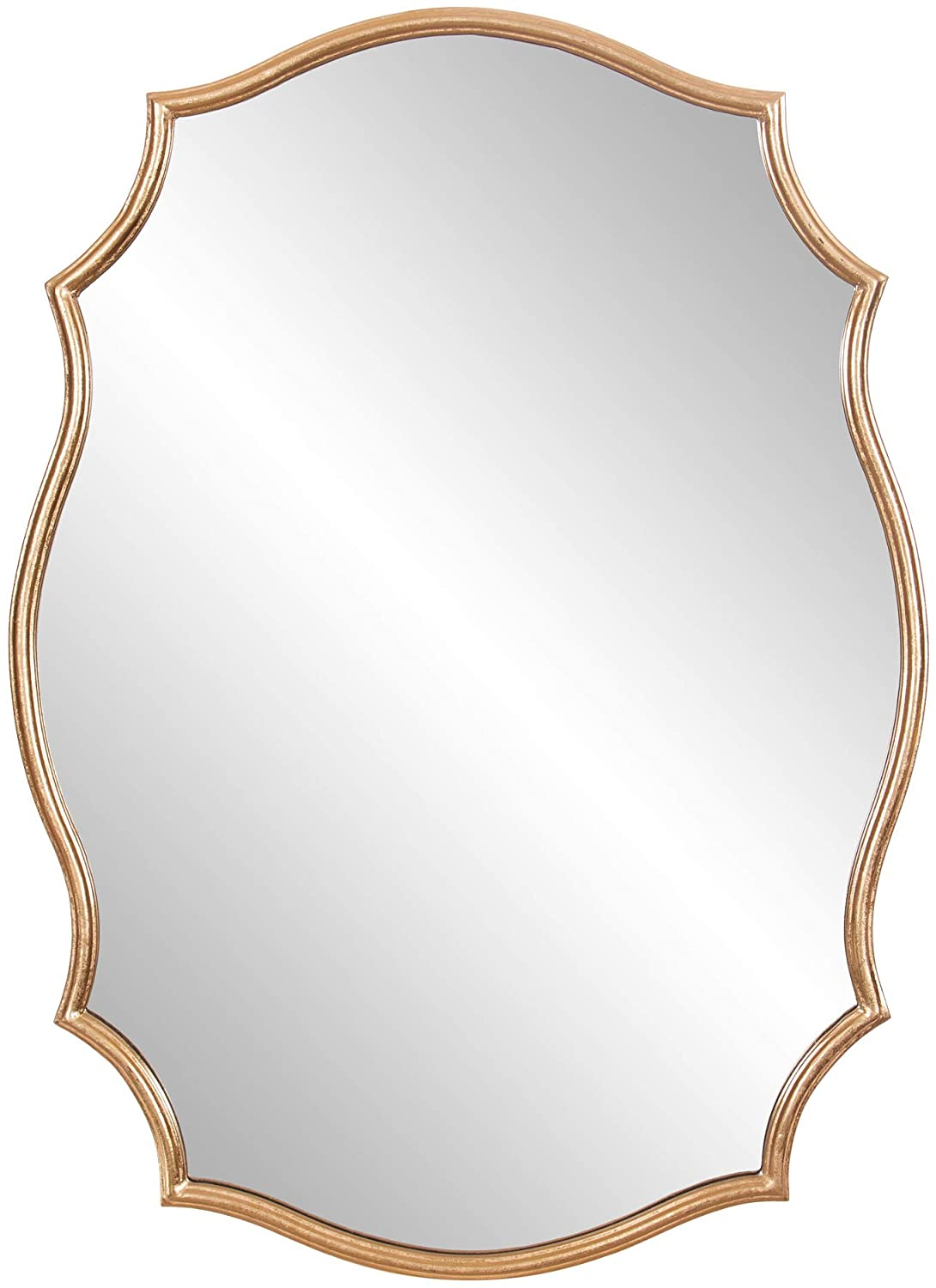 Patton Wall Decor 24x36 Gold Ornate Accent Wall Mounted Mirrors: Home & Kitchen
