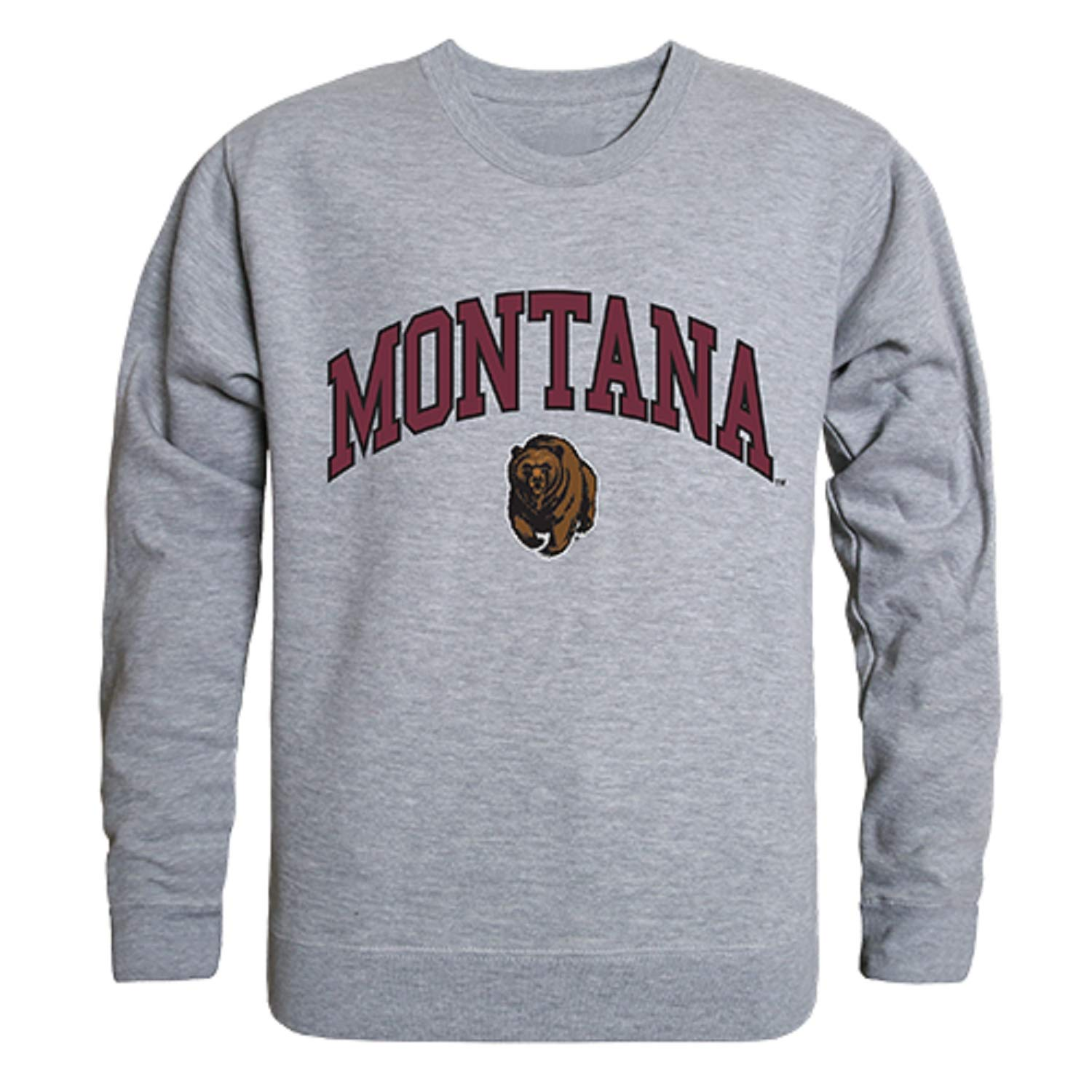 University of Montana Grizzlies NCAA Crewneck College Sweater S M L XL 2XL