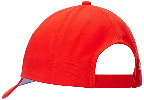fbbc029493b Puma Men s Hat and Cap (747636011 High Risk Red and Black Iris)  (4055262702847)  Amazon.in  Clothing   Accessories