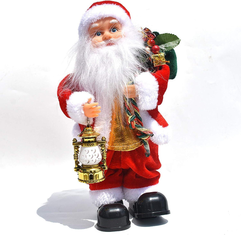 Juguete eléctrico de Papá Noel, muñeca de escalera de ...