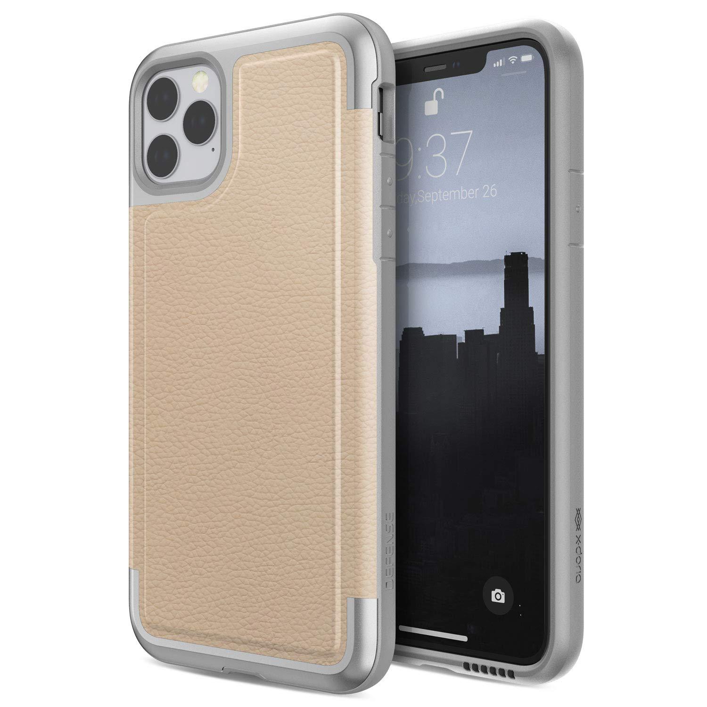 Funda Resistente Cuero Y Aluminio iPhone 11 Pro Max (xmp)