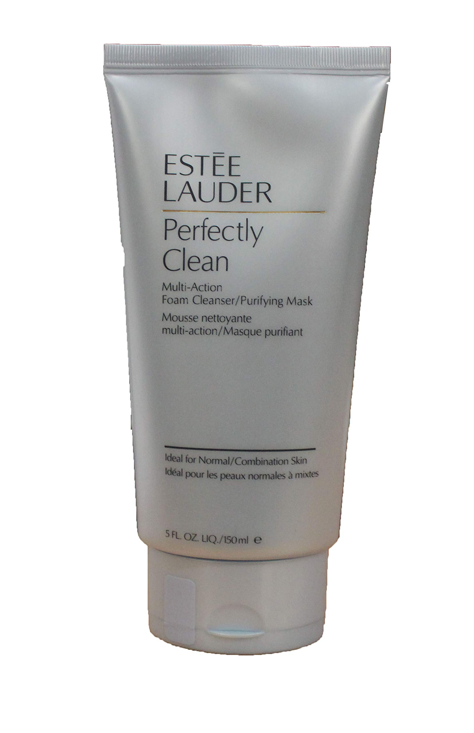 Estee Lauder Perfectly Clean Multi-action Foam Cleanser/Purifying Mask, 5 Ounce